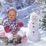 Беби Бон - зима, подарки детям на Новый год