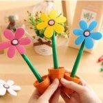 Ручка-цветок