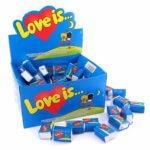Блок жвачки Love is…