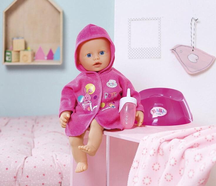 Интерактивная Кукла Baby Born (Беби Бон).