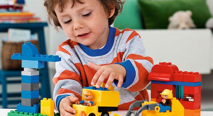 Конструктор лего для ребенка 1 год