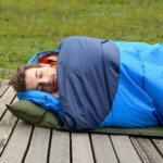 спальный мешок - летние подарки для мужчин
