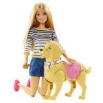 Барби с собакой