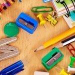 Канцелярия для школы, список школьных принадлежностей