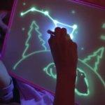 Рисуй светом, планшет для рисования в темноте