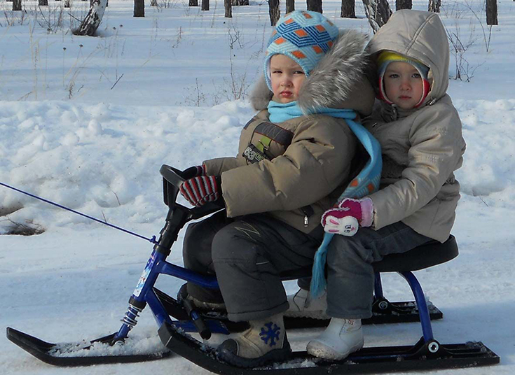 детский снегокат