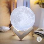 Настольный светильник Луна