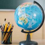 Глобус, подарок на выпускной из 4 класса