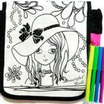 сумочка-раскраска, Подарок девочке на 6 лет