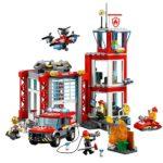 Лего пожарное депо