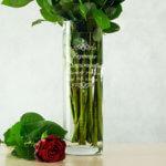 ваза с гравировкой в подарок учителю