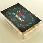 печенье с предсказаниями в подарок учителю