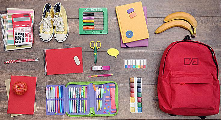список школьных принадлежностей