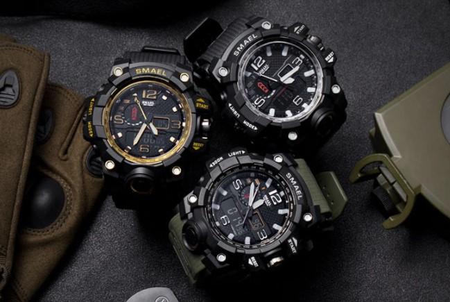 армейские часы с Алиэкспресс