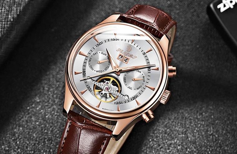 Мужские часы с Алиэкспресс