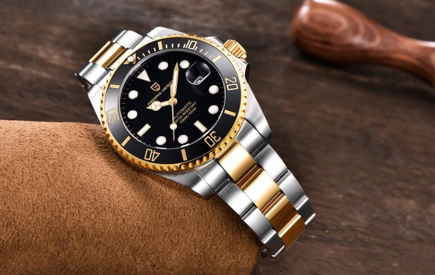 наручные мужские часы с Алиэкспресс